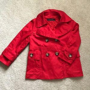 NWOT ZARA Red Coat